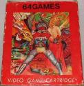 64 Games Atari cartridge scan