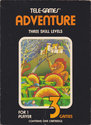 Adventure Atari cartridge scan