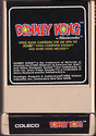 Donkey Kong Atari cartridge scan