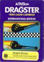 Dragster - Dragster Rennen Atari cartridge scan