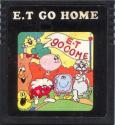E.T Go Home Atari cartridge scan
