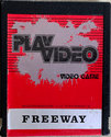 Freeway Atari cartridge scan