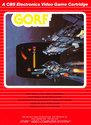 Gorf Atari cartridge scan