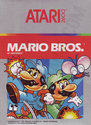 Mario Bros. Atari cartridge scan