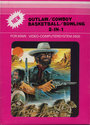 2 in 1 - Outlaw / Cowboy Atari cartridge scan