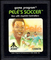 Pelé's Soccer Atari cartridge scan