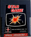 Space Invaders Atari cartridge scan