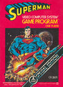 Superman Atari cartridge scan