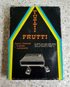 Tutti Frutti Atari cartridge scan