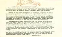 Airstrike Atari instructions