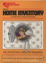Home Inventory Atari tape scan