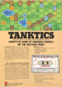 Tanktics Atari tape scan