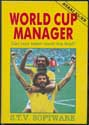 World Cup Manager Atari disk scan