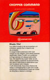 Chopper Command Atari catalog