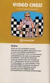 Video Chess Atari catalog