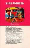 Fire Fighter Atari catalog