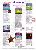 Atari Accolade  catalog