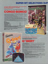 Atari 400 800 XL XE  catalog - Columbia House - 1984