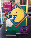 Pac-Man Atari Dealer Displays