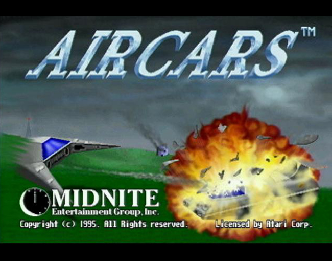 Air Cars atari screenshot