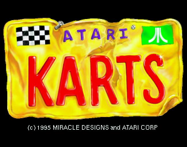 Atari Karts atari screenshot