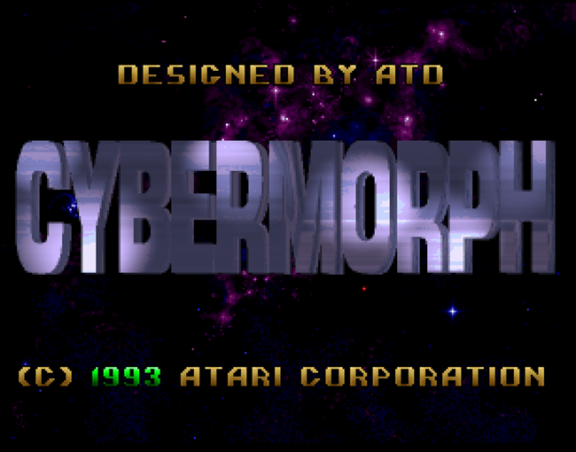 Cybermorph atari screenshot