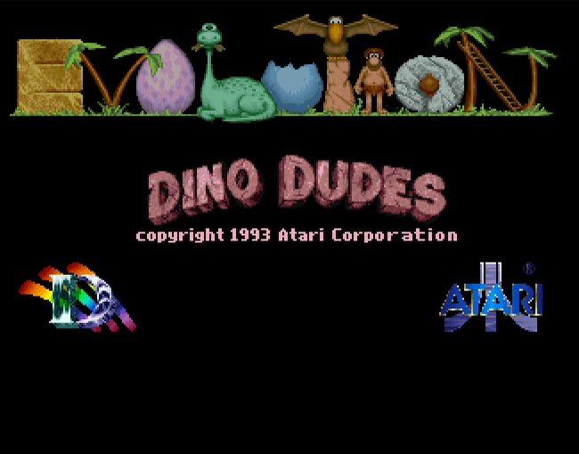 Evolution - Dino Dudes