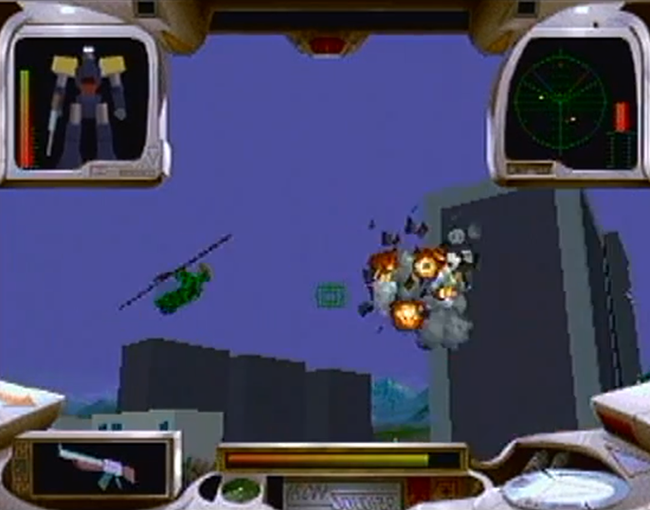 Iron Soldier atari screenshot