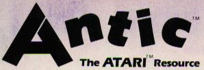 Atari Antic magazine