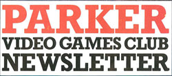 Atari Parker Video Games Club Newsletter magazine