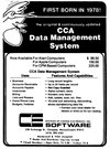 CCA Data Management System Atari ad