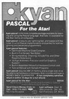 Kyan Pascal - Advanced Graphics Toolkit Atari ad