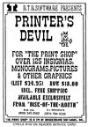 Printer's Devil for 'The Print Shop'
