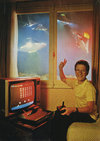 Space Invaders Atari ad