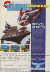 Carrier Command Atari ad