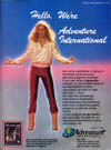 Adventure International Demonstration Disk Atari ad