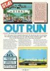 Out Run Atari review