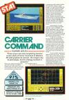 Carrier Command Atari review