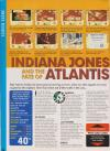 Indiana Jones and the Fate of Atlantis - The Action Game Atari review