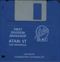 1st Division Manager Atari disk scan