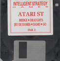 5 Intelligent Strategy Games Atari disk scan