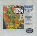 Conflict - Europe Atari disk scan
