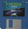 Frogs / Zatacka ST Atari disk scan