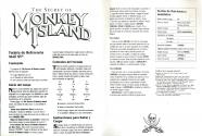 Secret of Monkey Island (The) Atari instructions