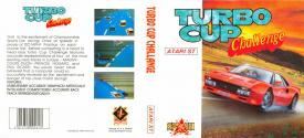 Turbo Cup Challenge Atari disk scan