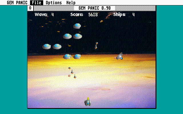 GEM Panic atari screenshot