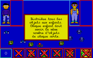Adibou - Je Calcule 4-5 Ans atari screenshot