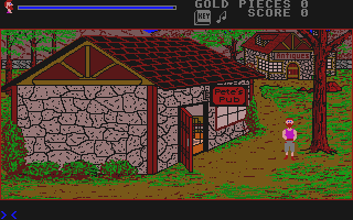 Adventures of Maddog Williams in the Dungeons of Duridian (The) atari screenshot