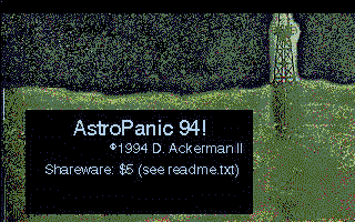 AstroPanic 94! atari screenshot