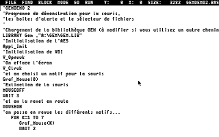Atari STe Language Disk Rev. B (Omikron) atari screenshot
